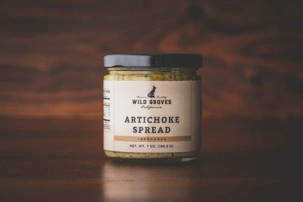 wild groves artichoke spread in jar